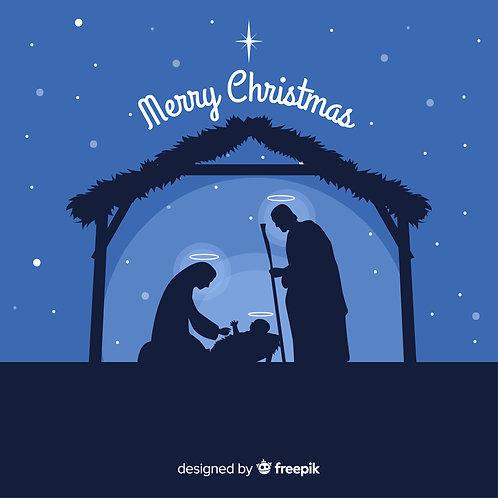 Chúa Hài Đồng Giáng Sinh Trong Máng Cỏ