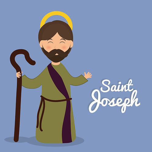 Thánh Giuse cartoon1