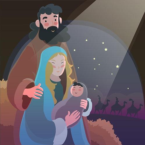 Hình Giáng Sinh vẽtay