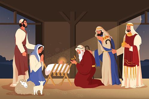 Ba Vua đến thăm HàiNhi