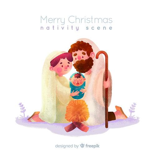 Hình Chúa Giáng Sinh dễ thươnggggg