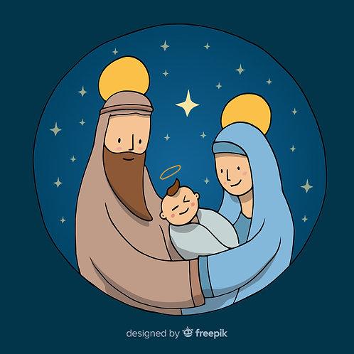 Chúa Giesu Giáng Sinh Trong Đêm