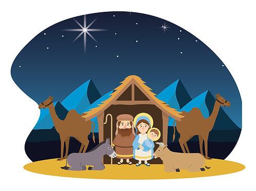 Hình Chúa Giáng Sinh hoạthình