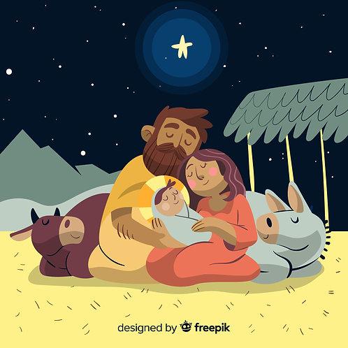 Chúa Giesu Giáng Sinh Trong Đêm Đông
