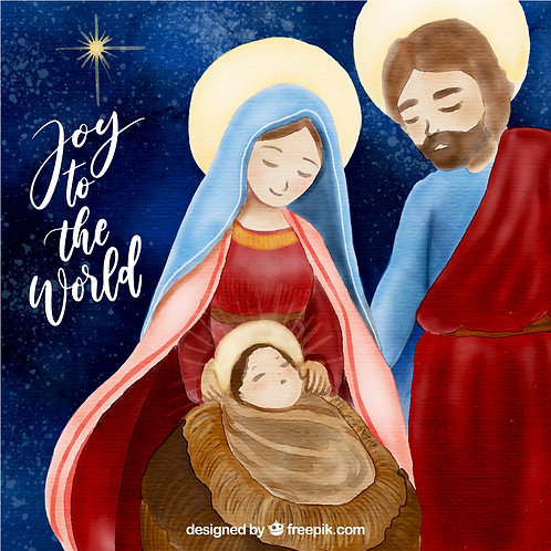 Chúa Giáng Sinh - hình dễ thương