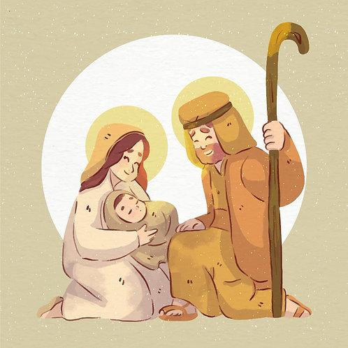 Chúa Giáng Sinh màu nuớc3