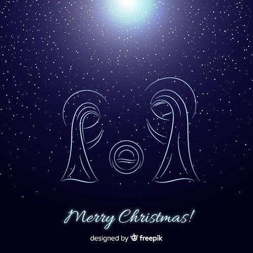 Chúa Giáng Sinh đêm đầy sao