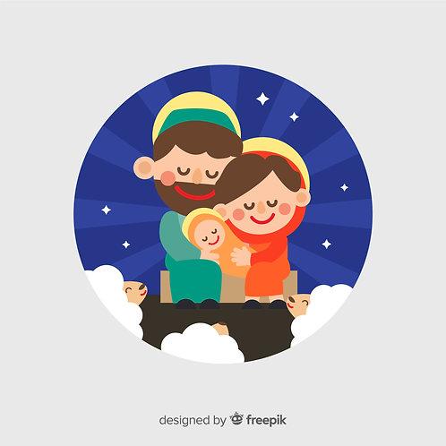 Chúa Giáng Sinh tronghang đá