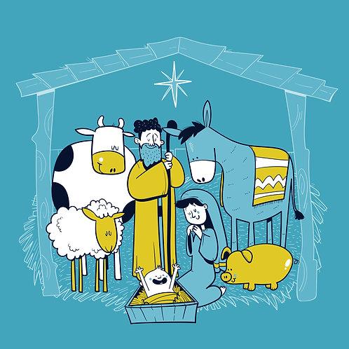 Chúa Giáng Sinh hang bò lừa