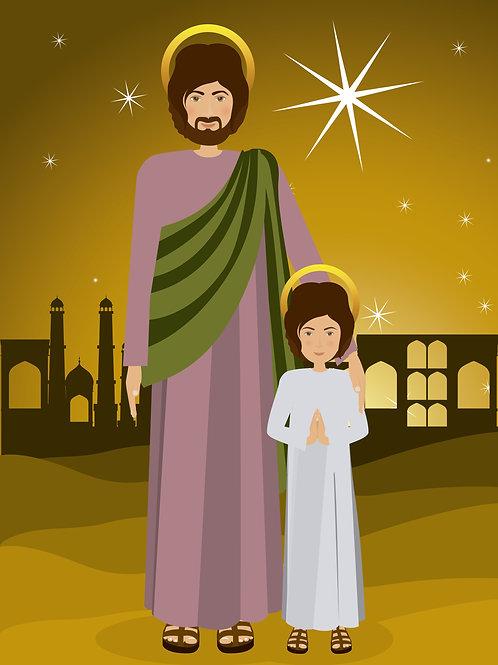 Thánh Giuse và Chúa Giesu