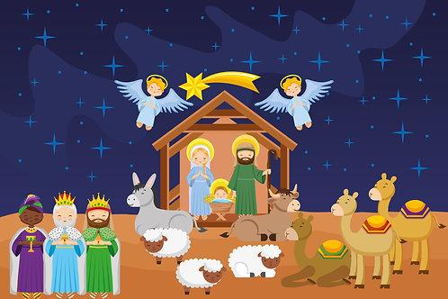 Chúa Giáng Sinh bên hang bò lừa
