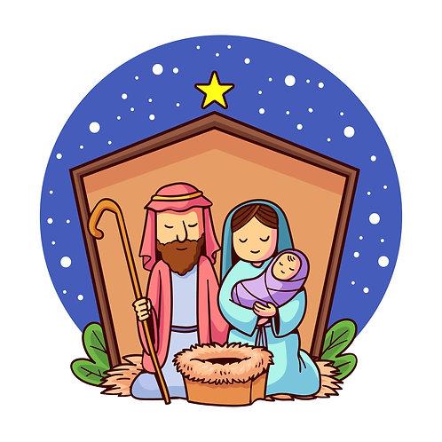 Hình Giáng Sinh vẽ tay