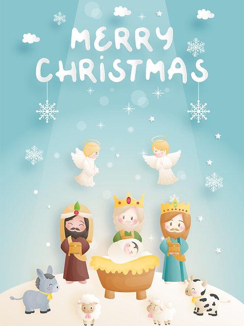 Ba Vua Tiến Dâng lễ vật cho HàiNhi