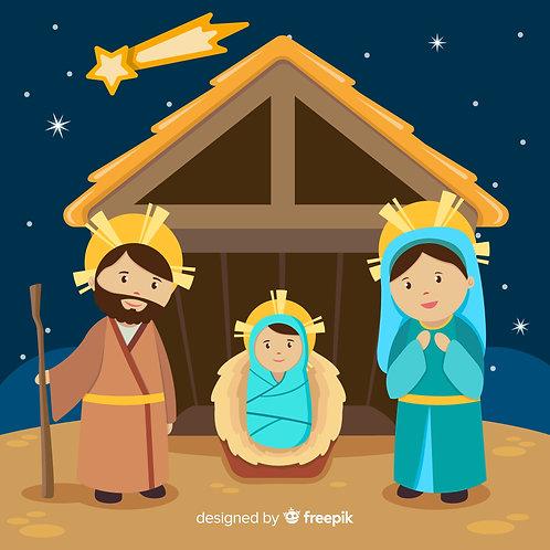 Chúa Giáng Sinh đêm mùa đông