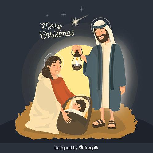Chúa Giáng Sinh hình cartoon