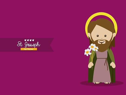 Thánh Giuse cartoon 3