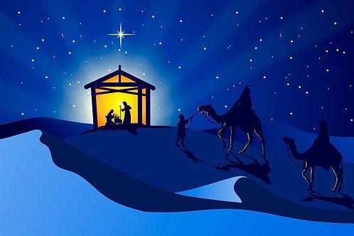 Chúa Giáng Sinh đêmđầysao
