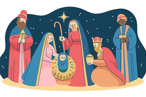 Ba Vua đến thăm HÀI NHI
