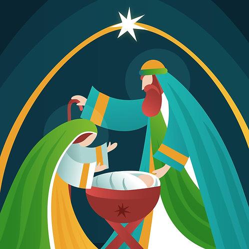 Hình Giáng Sinh vẽ tay 2