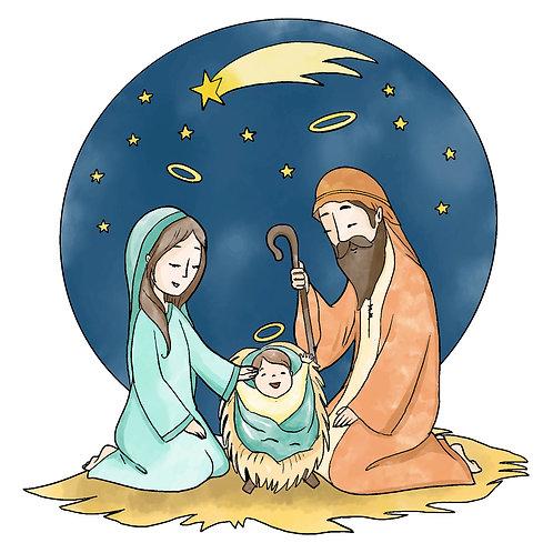 Hình Giáng Sinh dễ thương