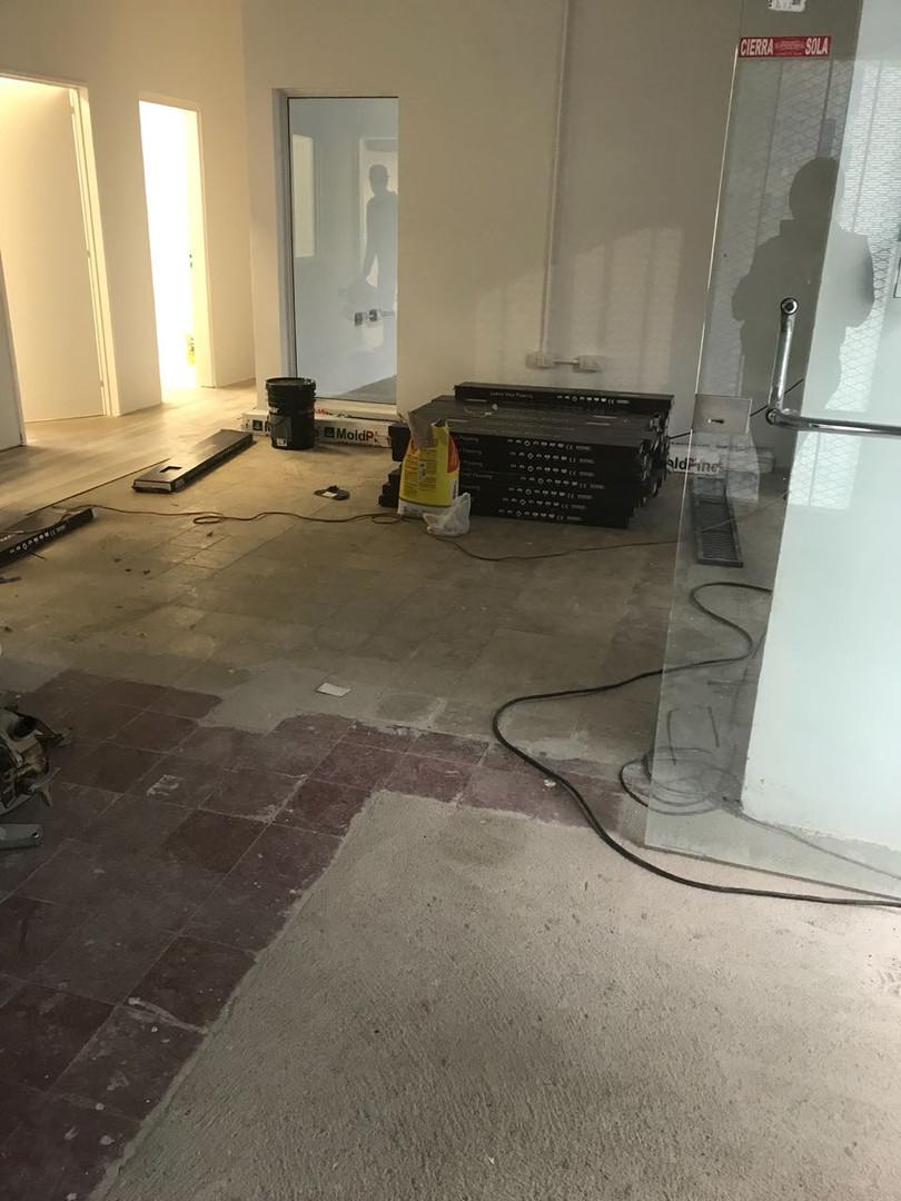 Renovacion pisos Flock