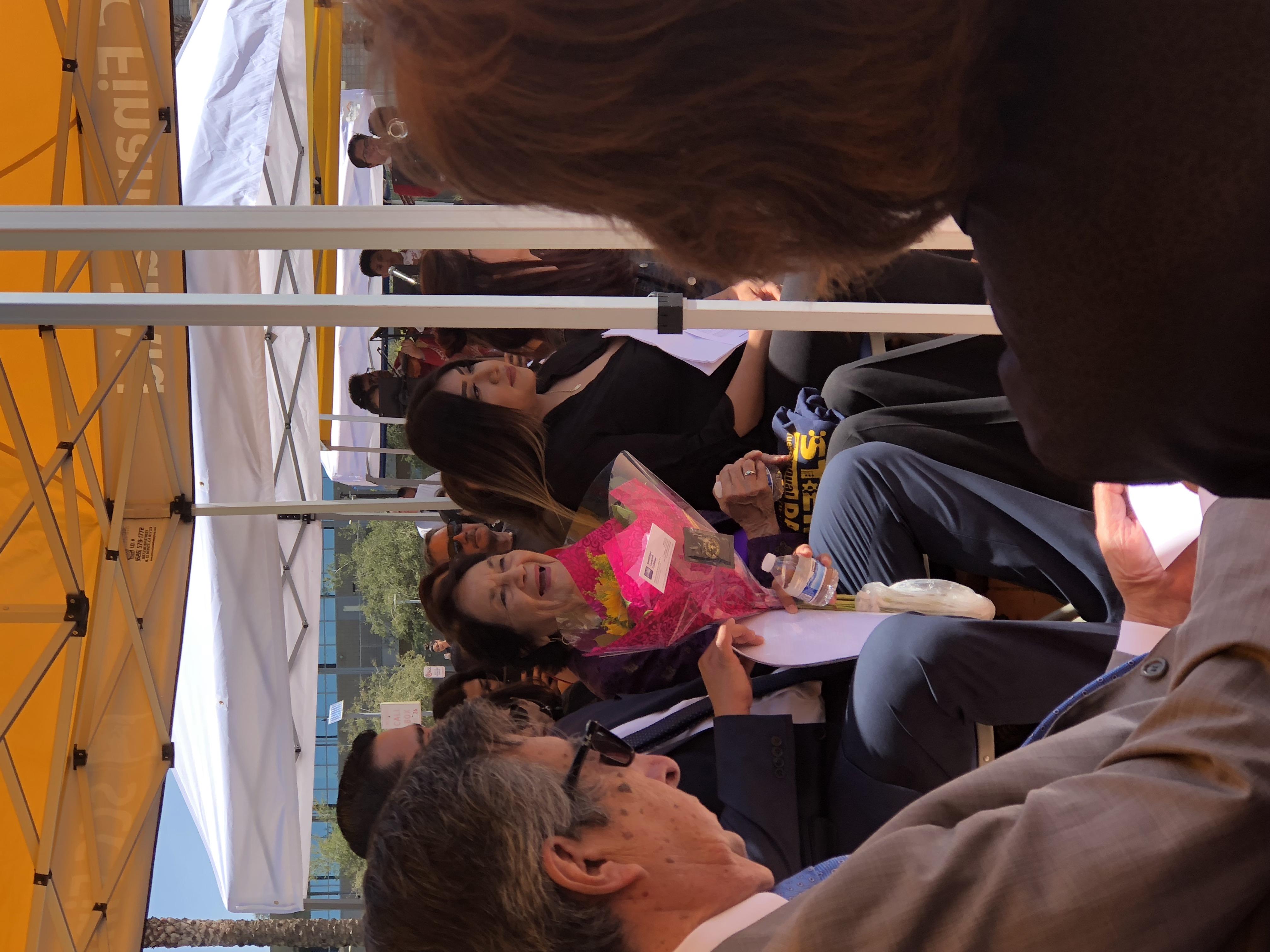 Dolores Huerta at SCC