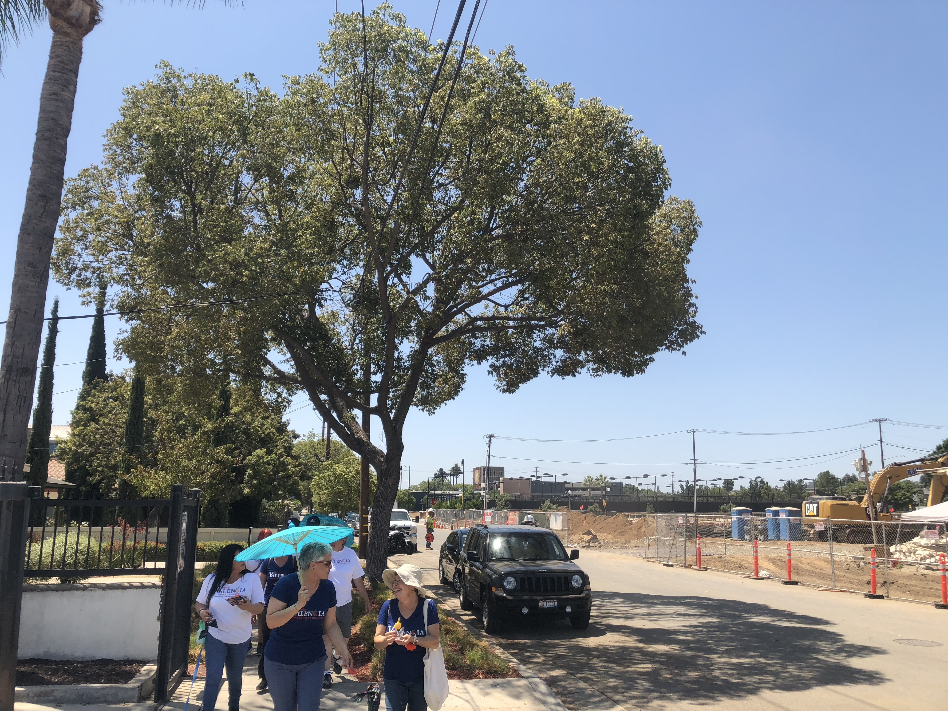 Walking Cypress Street Day
