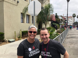 Marching with Justin Massey
