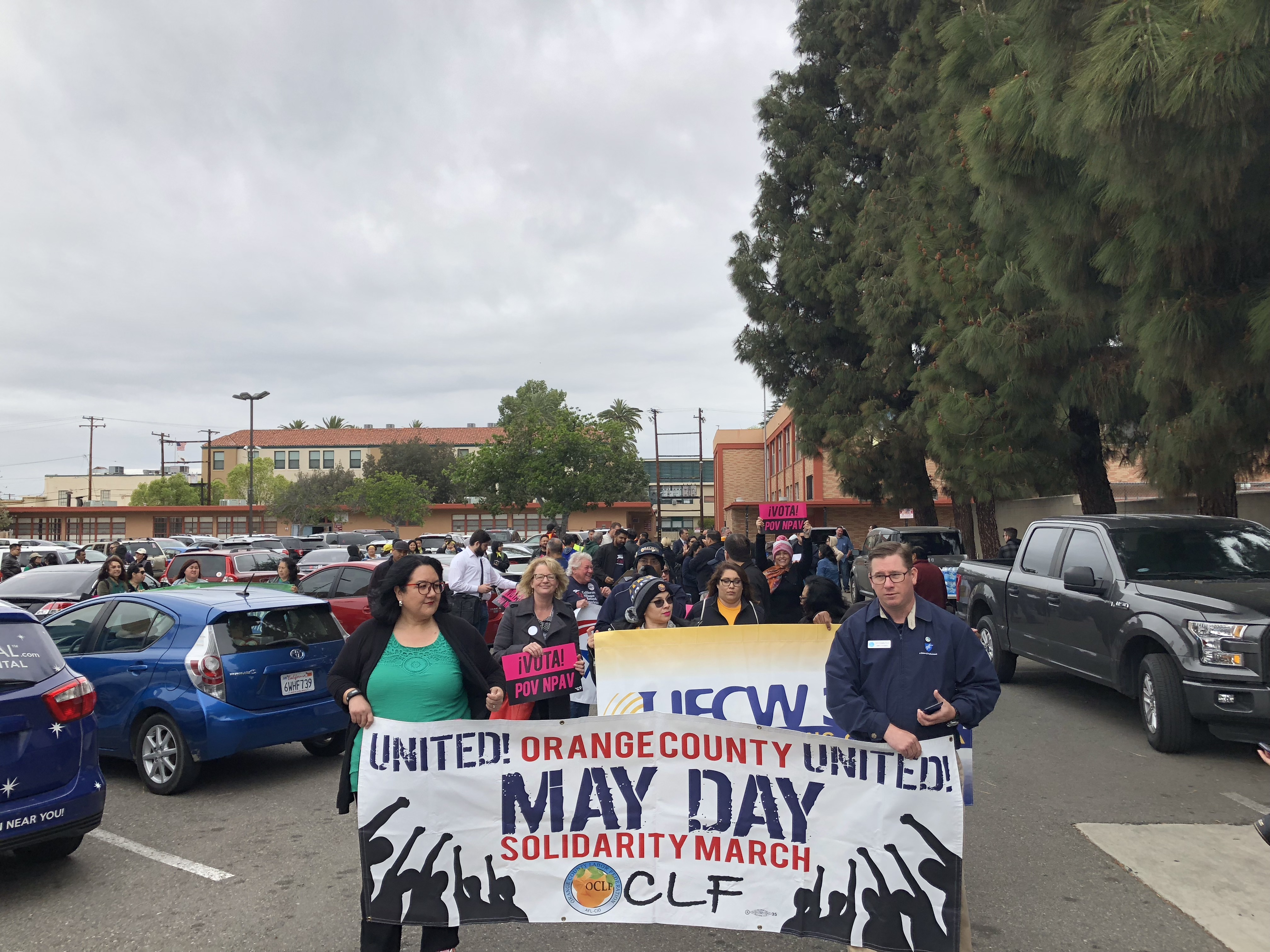 MAY DAY MARCH 2018