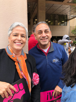MAY DAY MARCH WITH GIL CISNEROS