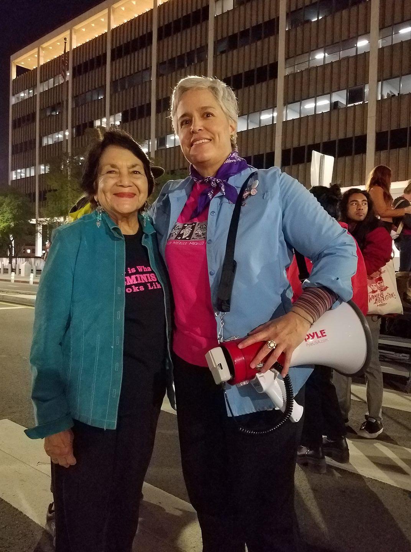 Dolores Huerta- Organizing