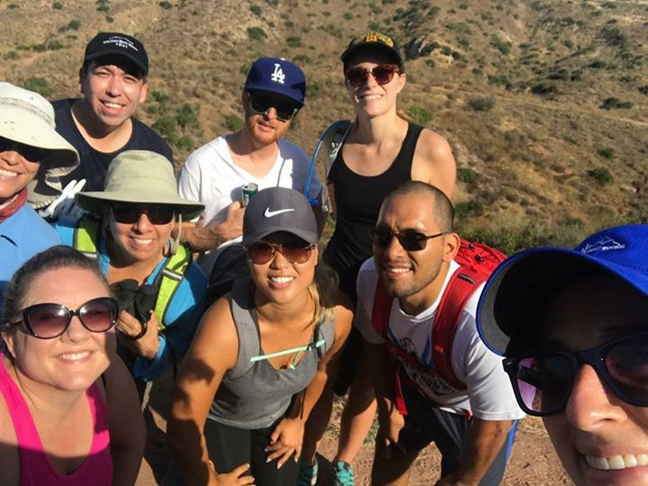 Building community and hiking.