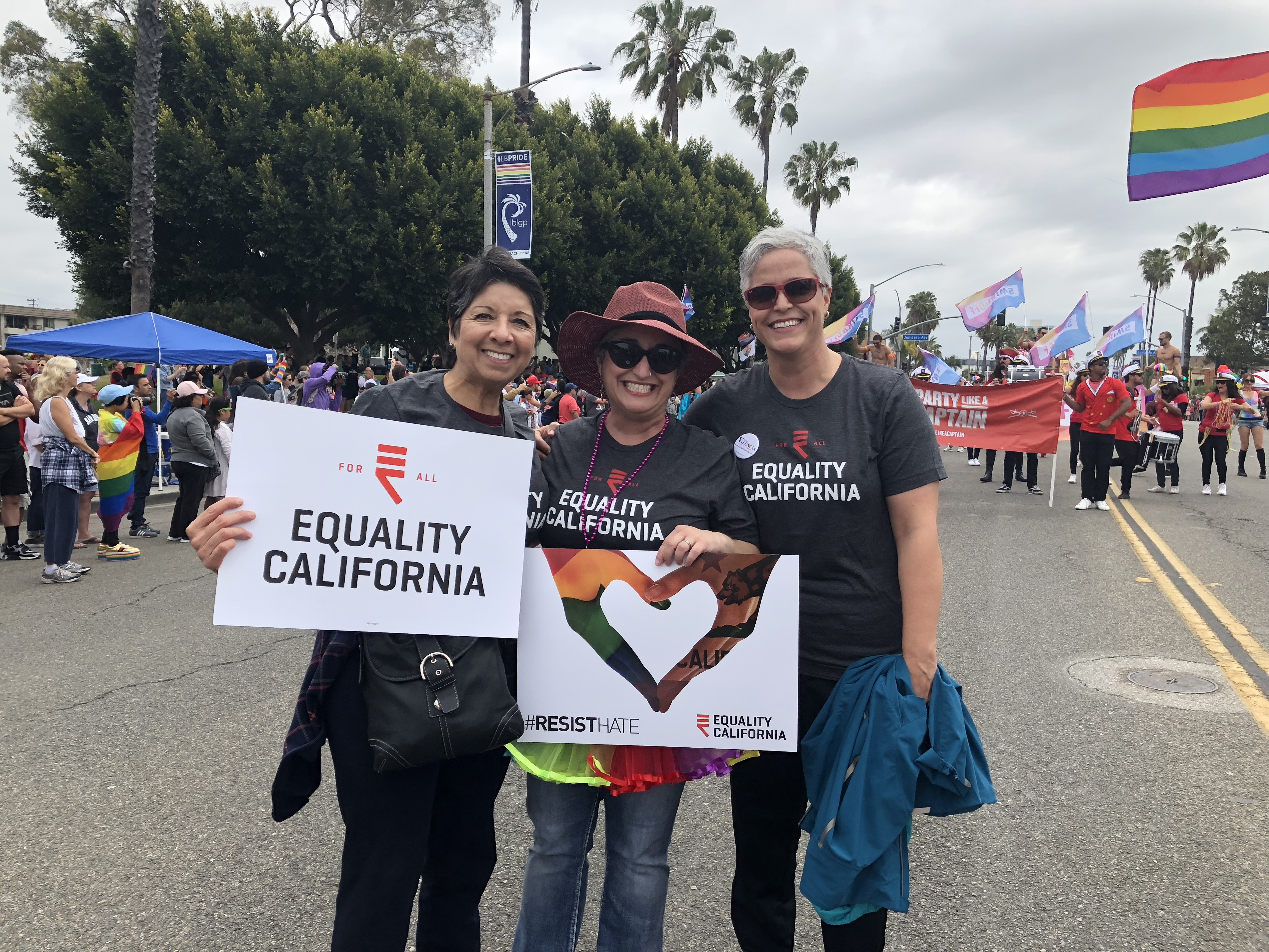 With Laura and Shayna Equality Ca.