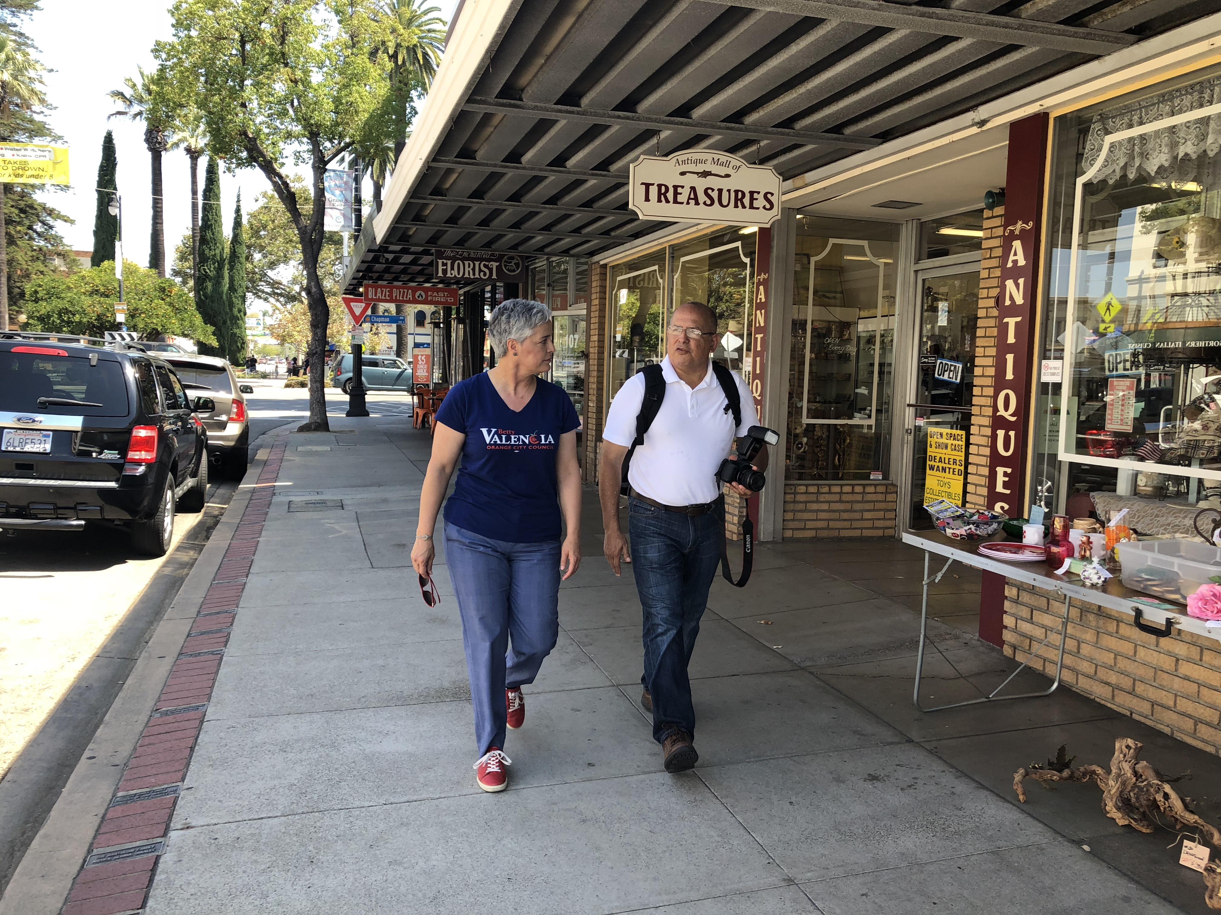 Walking Old Towne