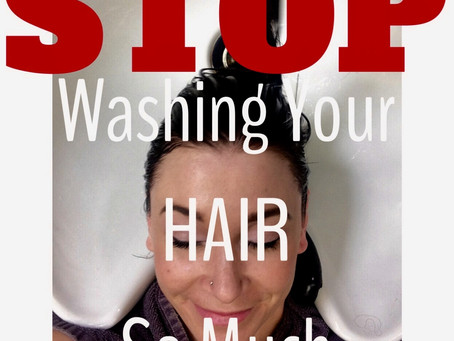 PART 1: Stop Washing Your Hair So Much
