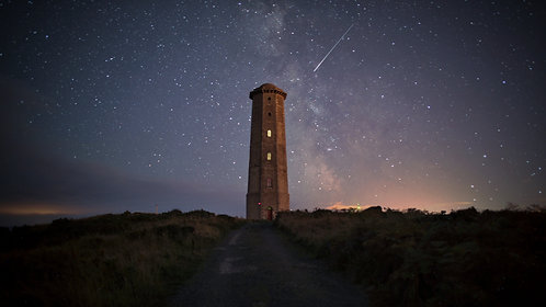 Floating in Space (Wicklow Lighthouse)