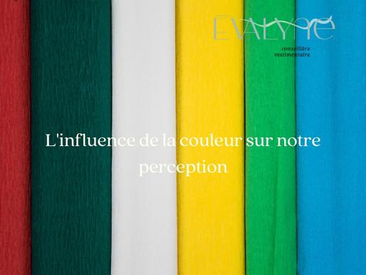 L'influence de la couleur sur notre perception