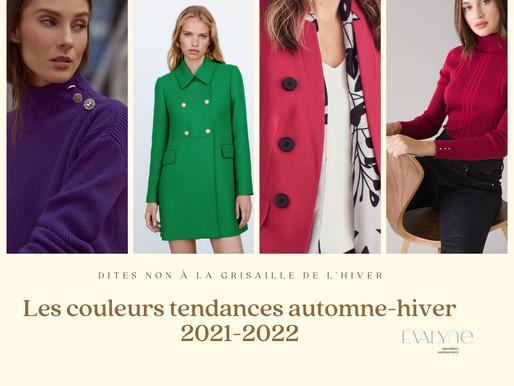 Les couleurs tendances pour l'automne-hiver 2021