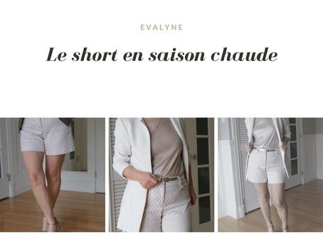 Le short, un style urbain ou habillé.