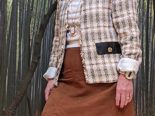 Comment porter la veste en tweed