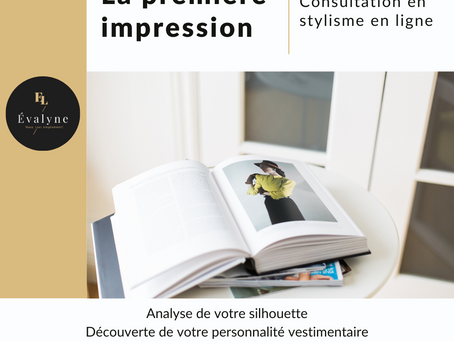 Consultation en stylisme en ligne
