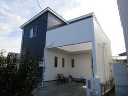 62久留米市外壁塗装226万サイディングガルバ施工後