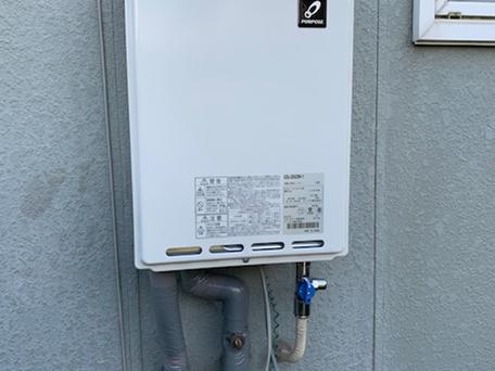 パーパス製給湯器(GS-200W-1)とリモコン(MC-100)へ交換しました!