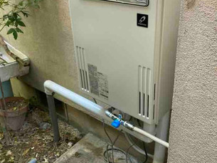 パーパス給湯器(GX-2403AW)へ交換しました!