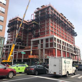 Crane Operations at 125th St