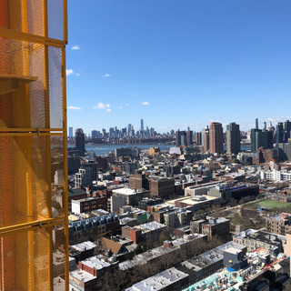 View of Downtown Manhatten from the 50th Floor
