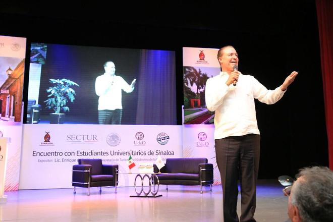 Turismo, de los motores más importantes de la economía en Sinaloa y México: Enrique de la Madrid