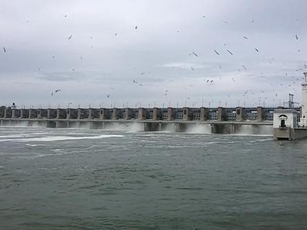 На Цимлянской ГЭС модернизируют ключевой элемент системы защиты от прорыва воды