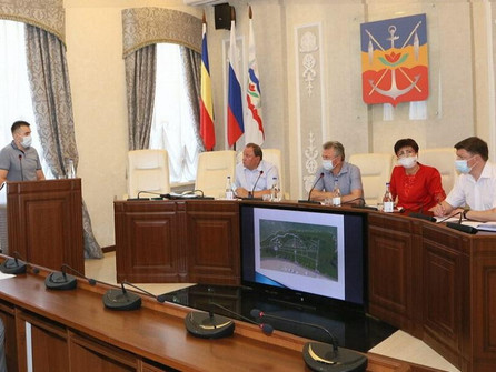 Новую набережную Волгодонска от моста до ТРЦ разделят на три зоны
