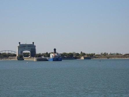 Маловодье Дона негативно повлияло на грузооборот Волго-Донского канала